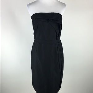 Ann Taylor LOFT strapless dress Sz 14